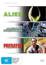 Alien / Predator / Alien Vs. Predator (3 Disc Set) on DVD
