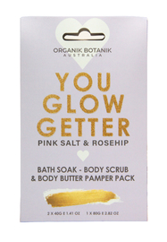 Love & Hope: Body You Glow Better Pamper Pack (Pinksalt & Rosehip)