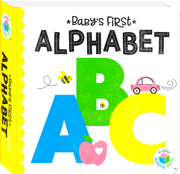 Building Blocks: Neon Baby's First - Alphabet Book