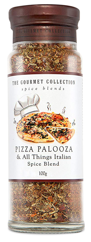 The Gourmet Collection Spice Blends - Pizza Palooza & All Things Italian (100g)