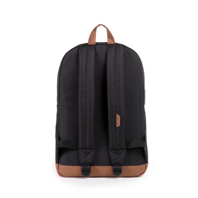 Herschel Supply Co: Pop Quiz - Black/Tan Synthetic Leather image