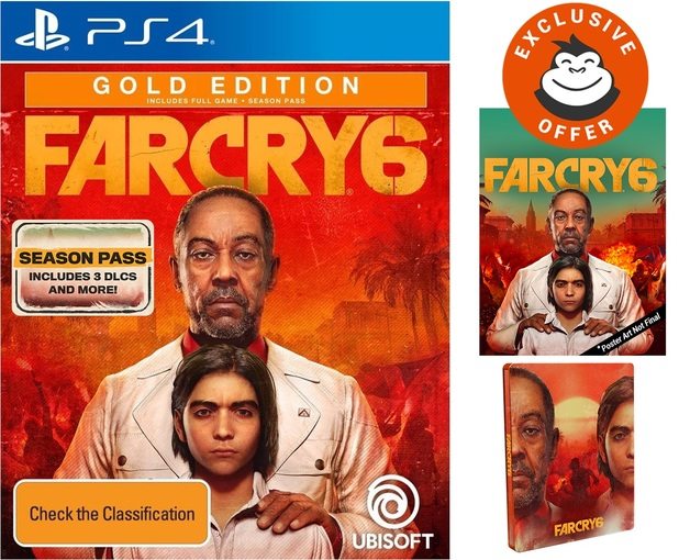 Far Cry 6 Gold SteelBook Edition for PS4