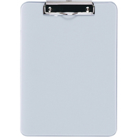Esselte A4 Clipboard Solid Plastic - Clear