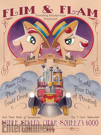 My Little Pony: Friendship Is Magic: Collectible Poster Book by Miranda Skeffington image
