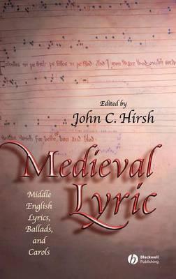 Medieval Lyric