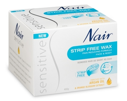Nair Sensitive Strip Free Wax (400g)