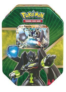 Pokemon TCG XY Shiny Kalos Tin: Zygarde-EX