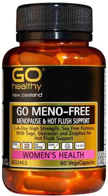 Go Healthy: GO Meno-Free (60 Capsules)