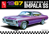 AMT: 1/25 1967 Chevrolet Impala SS - Model Kit