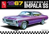 AMT: 1/25 1967 Chevrolet Impala SS - Model Kit