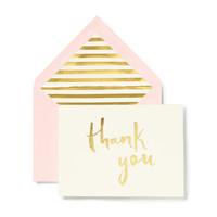 Kate Spade Notecards (Thank You, Set of 10)