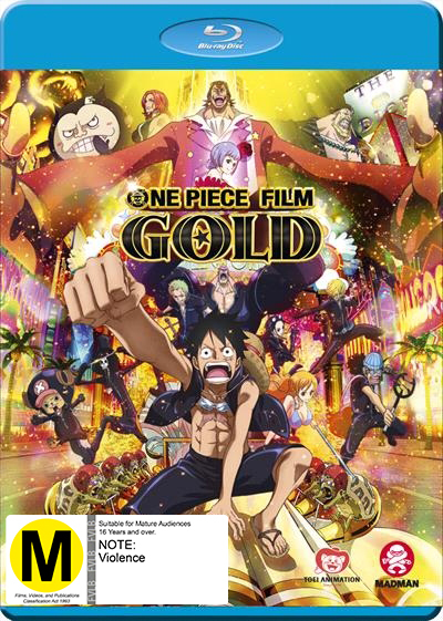 One Piece Film: Gold - Limited Edition on Blu-ray