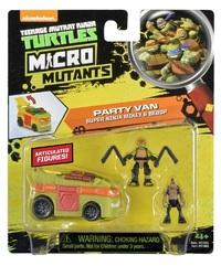 Teenage Mutant Ninja Turtles: Micro Mutant Vehicle - (Michelangelo's Party Van)