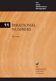 Irrational Numbers by Ivan Niven image