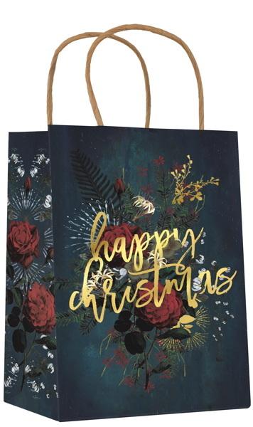 Papaya:Christmas Gift Bag - Happy Christmas image