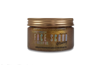 Shimmer Squad Face Scrub Clear Gel - Rose Gold (250g)