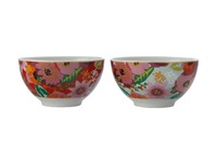 Maxwell & Williams: Teas & C's Glastonbury Set of 2 Bowl - Poppy (10cm)