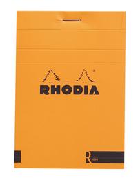 Rhodia with Cream Paper Orange Blank