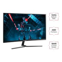 """32"""" Viewsonic FHD 1ms 165hz Curved FreeSync Gaming Monitor image"""