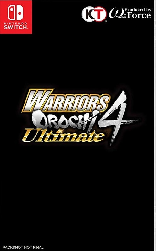 Warriors Orochi 4 Ultimate for Switch
