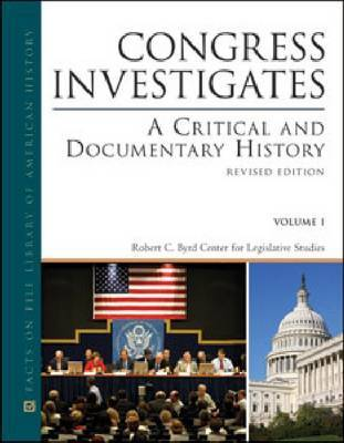 Congress Investigates by Robert C Evans image
