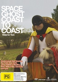 Space Ghost - Coast To Coast: Volume 2 on DVD image