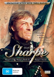 Sharpe's Gold / Sharpe's Battle / Sharpe's Sword (2 Disc Set) on DVD image