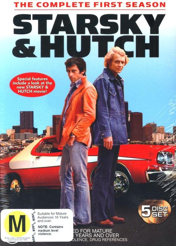 Starsky & Hutch - Complete Season 1 (5 Disc Box Set) on DVD