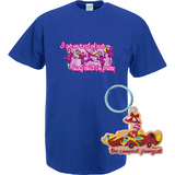 Penelope Pitstop Women's T-Shirt - Blue (S) with PVC Keyring Gift