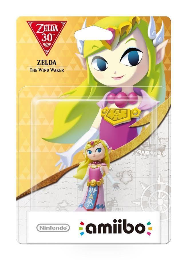 Nintendo Amiibo Wind Waker Zelda - Zelda Collection for Wii U image