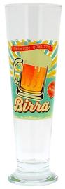 'Retro Beer' Beer Glass - 400ml