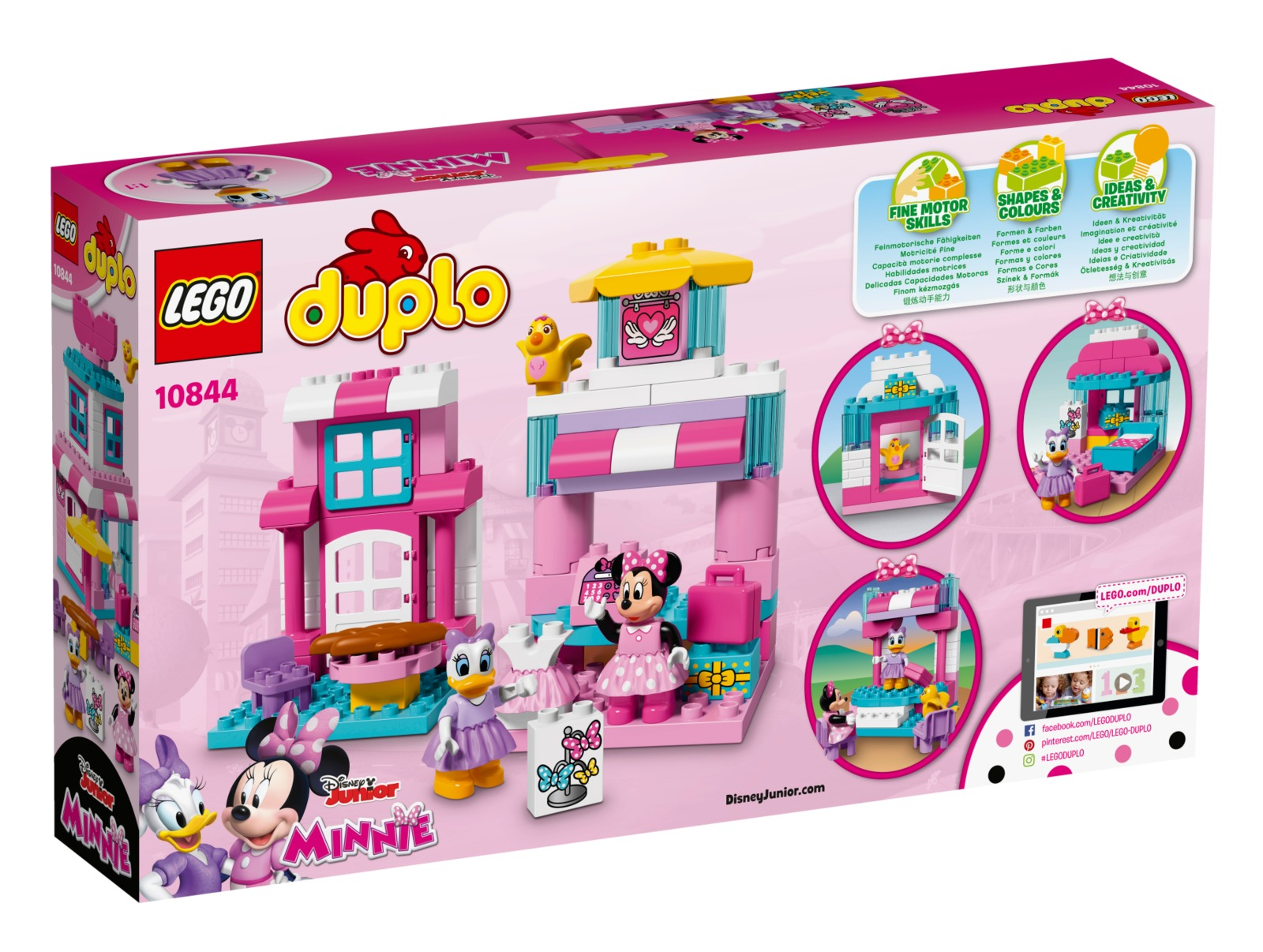 LEGO DUPLO: Minnie Mouse Bow-tique (10844) image