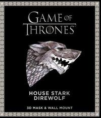 Game of Thrones Mask and Wall Mount - House Stark Wolf by Wintercroft