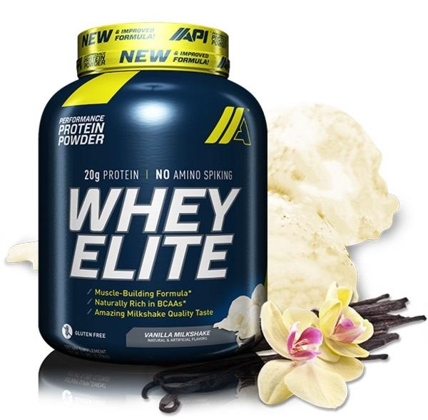 API Whey Elite - Vanilla Milkshake (5lb) image