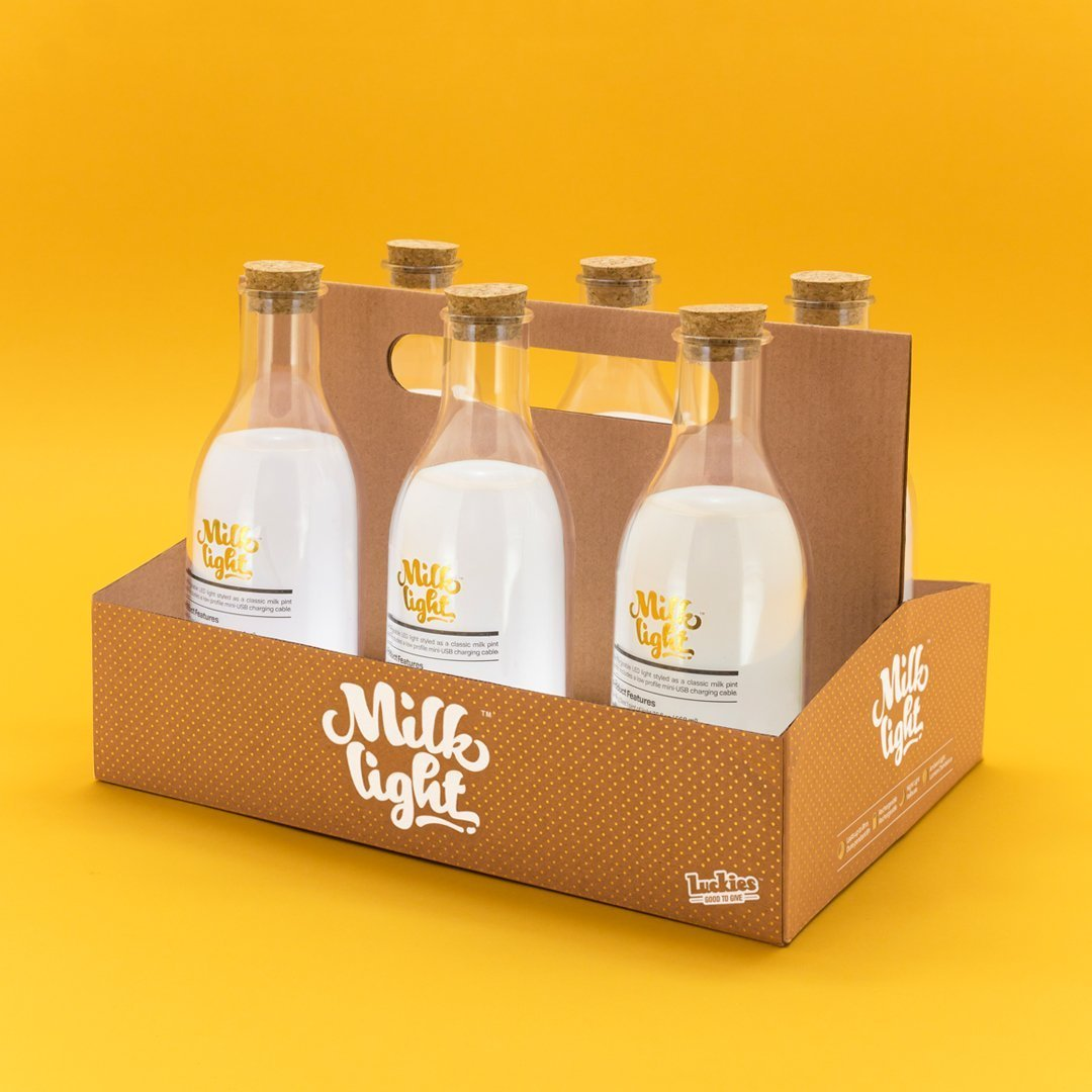 Milk Bottle LED Light image