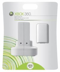 Xbox 360 Quick Charge Kit (imported, comes with plug adaptor) for Xbox 360 image
