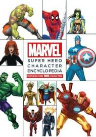 Marvel Super Hero Character Encyclopedia Mega Edition by Scott Peterson