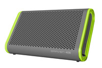Braven: 405 Portable Wireless Speaker - Silver/Green