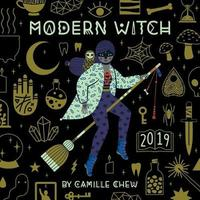 Modern Witch 2019 Square Wall Calendar by Camille Chew