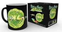 Rick and Morty: Heat Change Mug - Portals