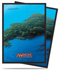 Magic the Gathering Ixalan Sleeves: Island (80)