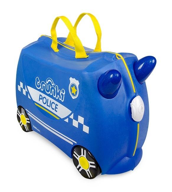 Trunki: Percy Police Car Trunki - Ride-On Suitcase