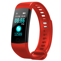Unisex Sports Smartwatch - Red