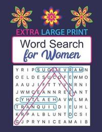 Extra Large Print Word Search for Women by Marcia Keszi