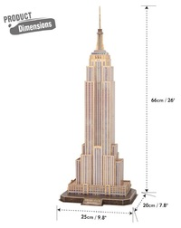 Cubic Fun: National Geographic: 3D Puzzle - Empire States Building (New York)
