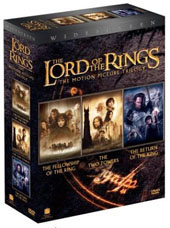 The Lord of the Rings - The Motion Picture Trilogy on DVD