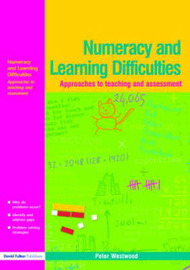 Numeracy and Learning Difficulties by Peter Westwood image