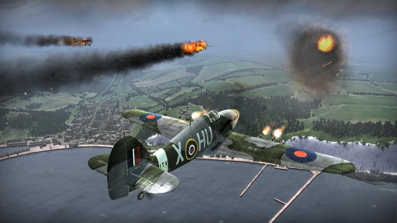 Heroes over Europe for X360 image
