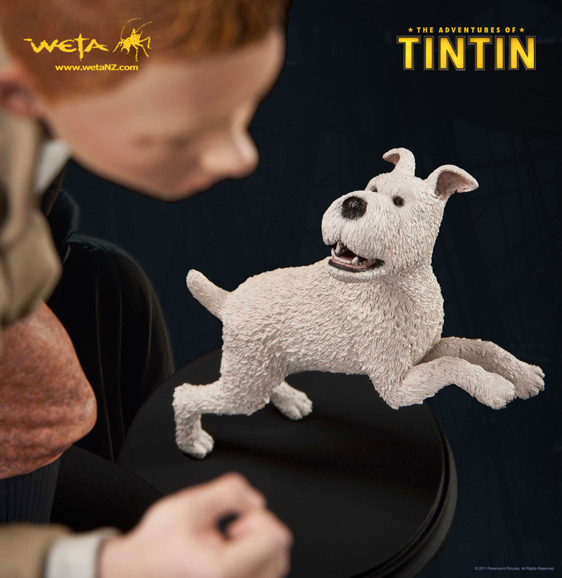 The Adventures of Tintin - Tintin and Snowy Statue image