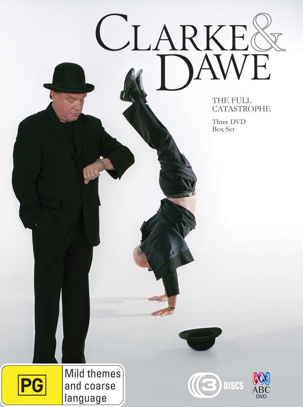 Clarke and Dawe: The Full Catastrophe - Box Set (3 Disc Set) on DVD